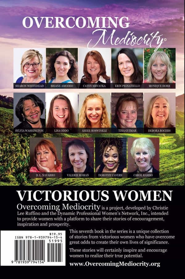 Overcoming Mediocrity Victorious Women Back